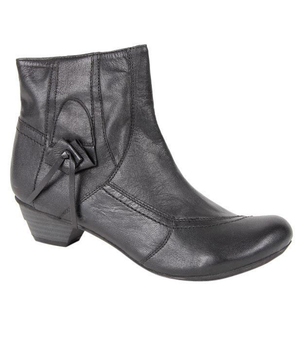Euro Star Remarkable Black Mid Calf Boots