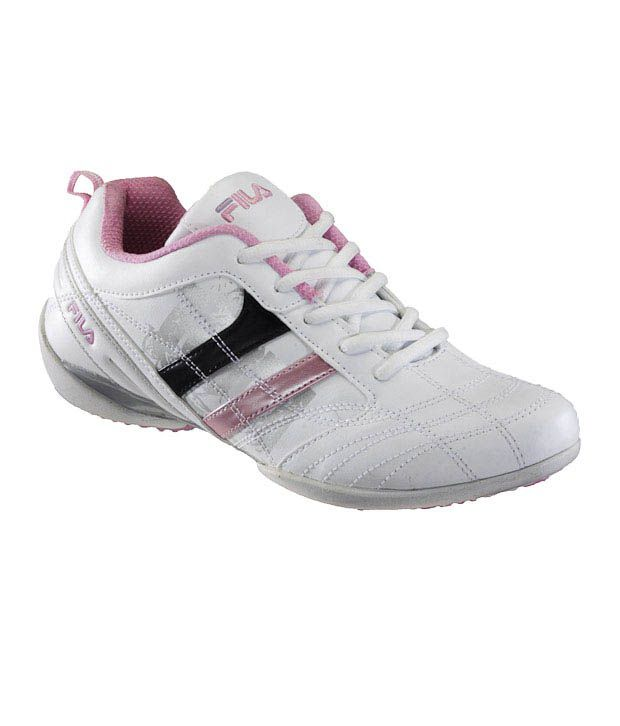Fila Pretty Pink-White Casual Lace Shoes