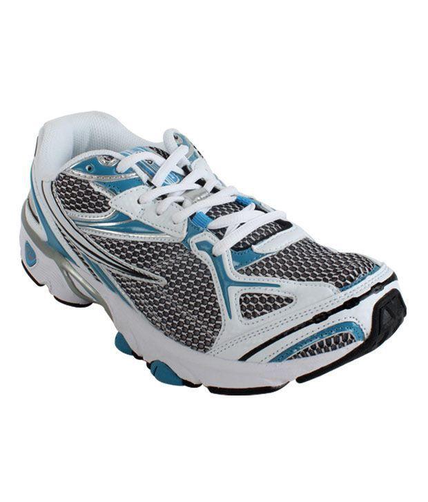 Fila Temptation White & Blue Sport Shoes