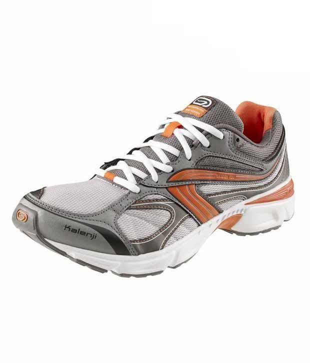 Kalenji Ekiden 100 Grey & Orange  Men's Road Running Shoes 8216310