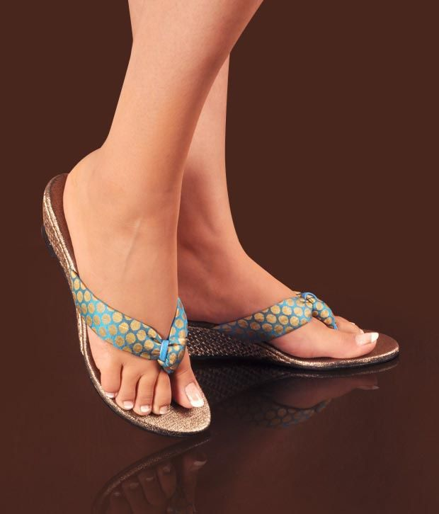 Neat Beautiful Blue Heel Sandals