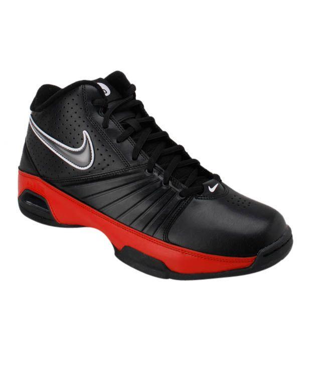 Nike Air Visi Pro II Black Basketball Shoes