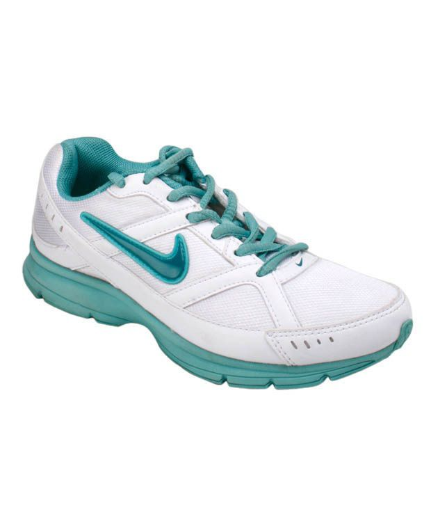 nike diffusion white light blue running shoes price in