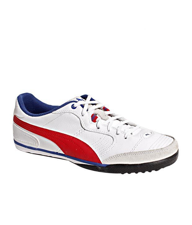 Puma Esito Vulc Cetto White   Red Football Shoes - Buy Puma Esito Vulc  Cetto White   Red Football Shoes Online at Best Prices in India on Snapdeal eeba8afa5