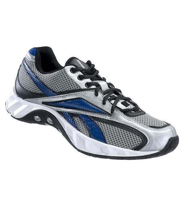 Reebok Hex Redial Grey & White Running Shoes