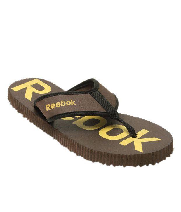 Reebok Rafter Core Dark Brown Slippers