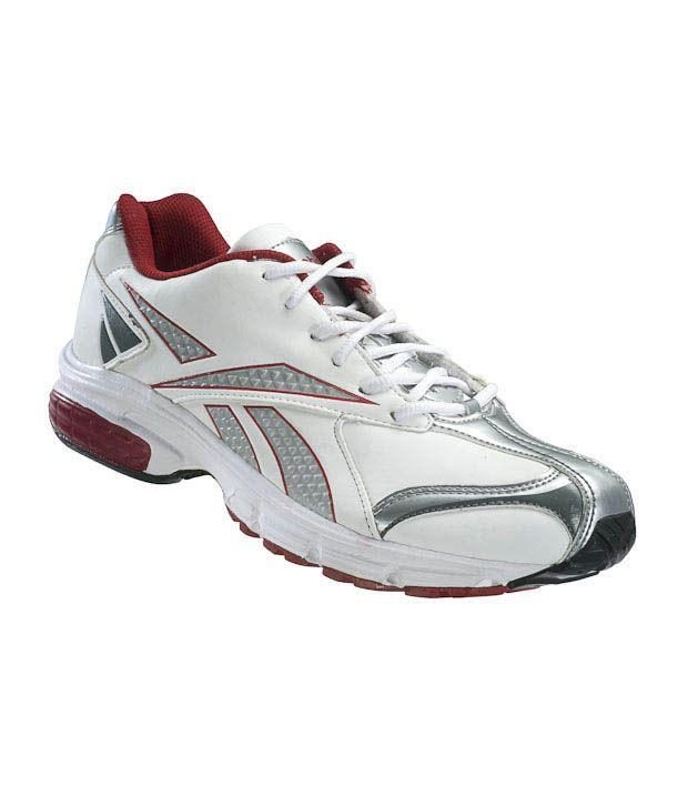 Reebok Royal White & Grey Running Shoes
