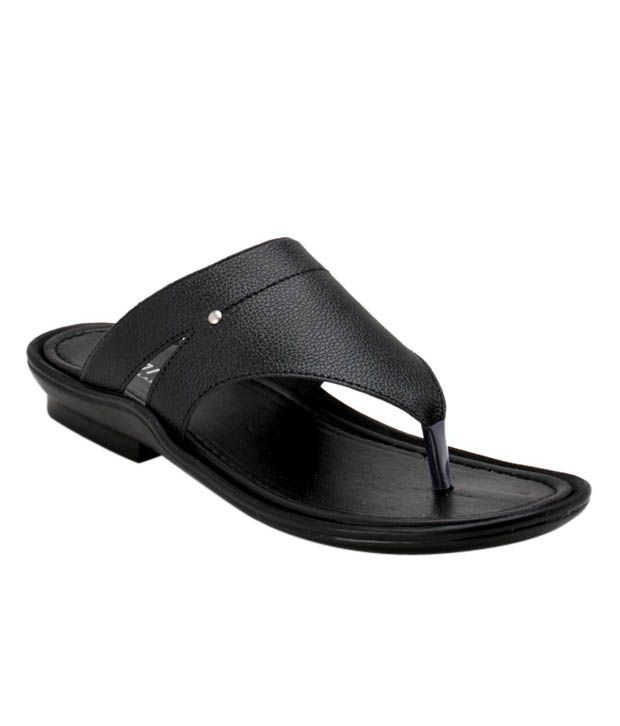 Roony Suave Black Slippers