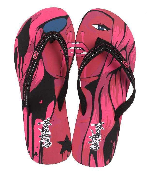 Aura Fabulous Fuchsia Pink Slippers