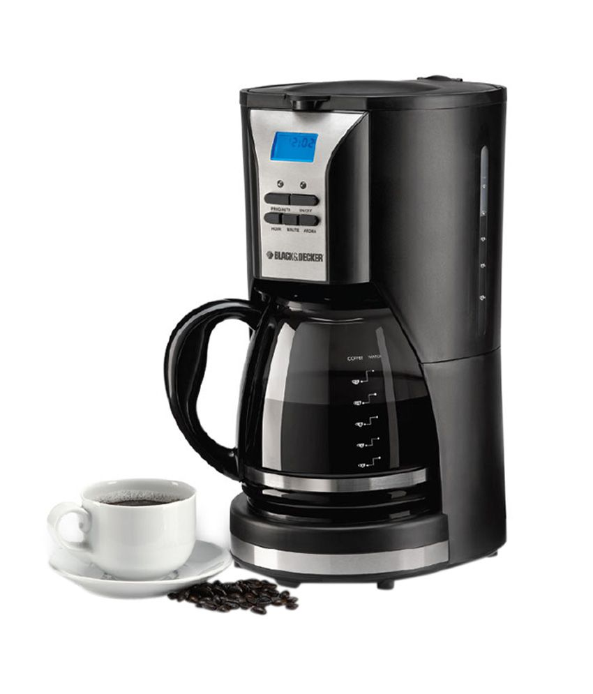Black Decker Coffee Maker Programmable : Black & Decker DCM90 Programmable coffee maker - Lifestyle Price in India - Buy Black & Decker ...