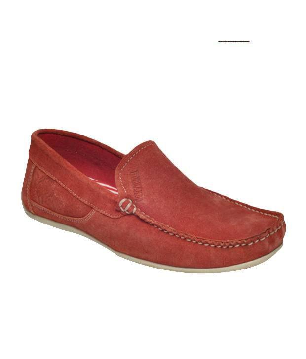 Buckaroo Trendy Red Loafers