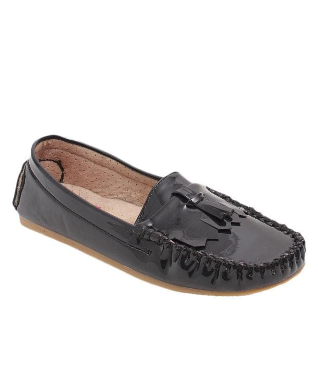Butterfly Superb Black Loafers