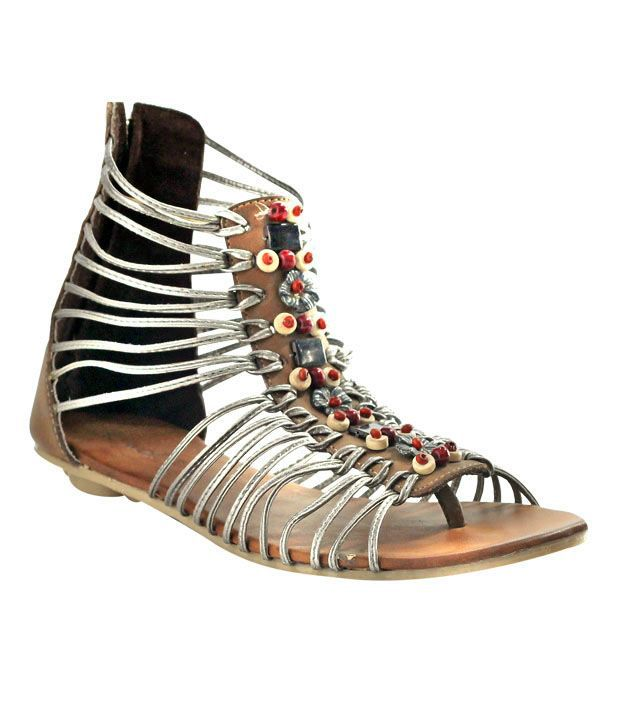 Catwalk Gunmetal Flat Gladiators