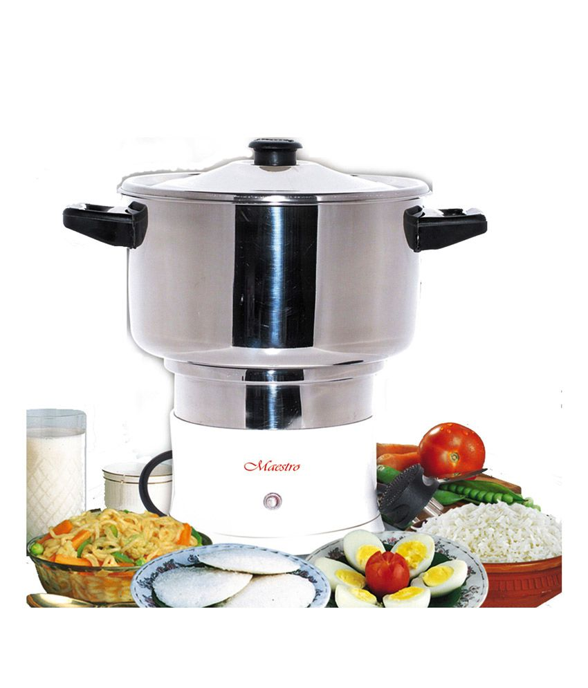 Electric Steam Cooker ~ Maestro electric steam cooker mc price in india buy