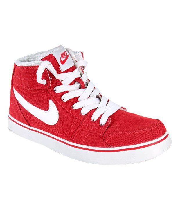 25caa1add1f5 Nike Liteforce Mid Red High Ankle Sneakers - Buy Nike Liteforce Mid Red High  Ankle Sneakers Online at Best Prices in India on Snapdeal