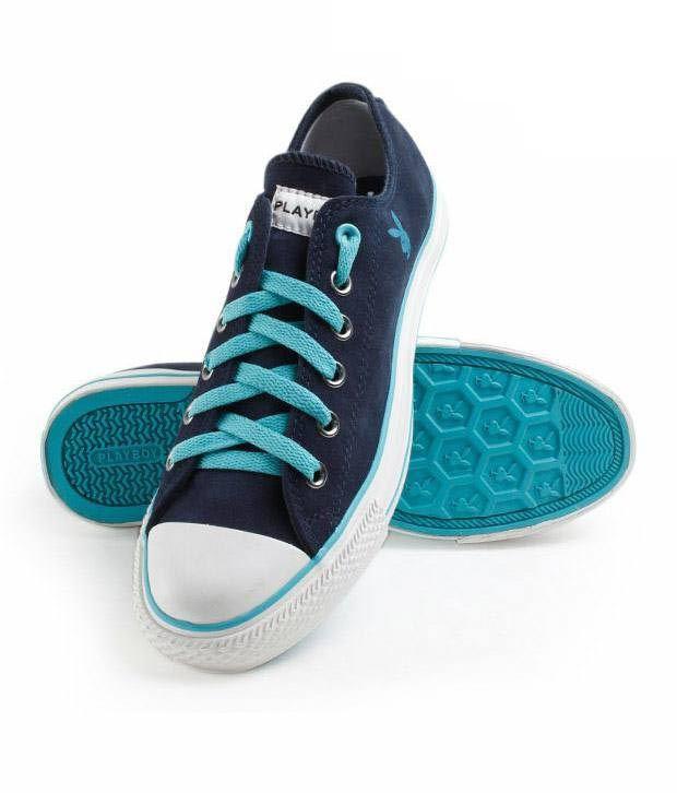 Playboy Dark Blue Shoes - PB014-BLUE