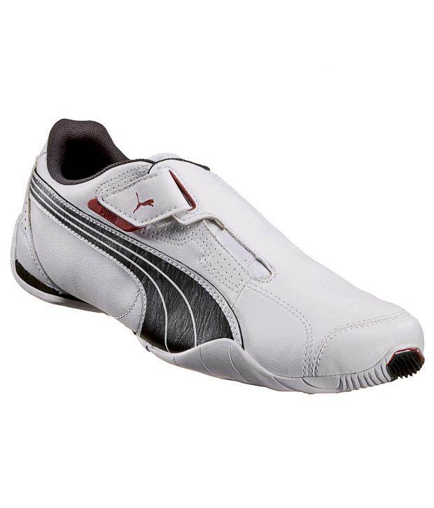 Puma Redon Move White & Black Sports Shoes