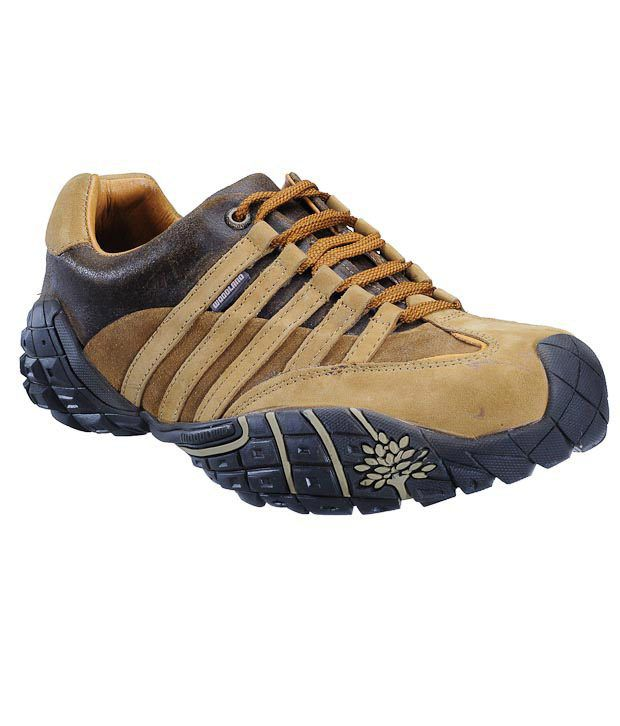 Woodland Gusto Camel Casual Shoes