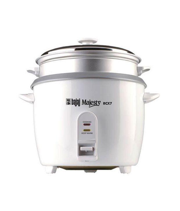 07bc84999 Bajaj Rcx 7 Rice Cookers Price in India - Buy Bajaj Rcx 7 Rice Cookers  Online on Snapdeal