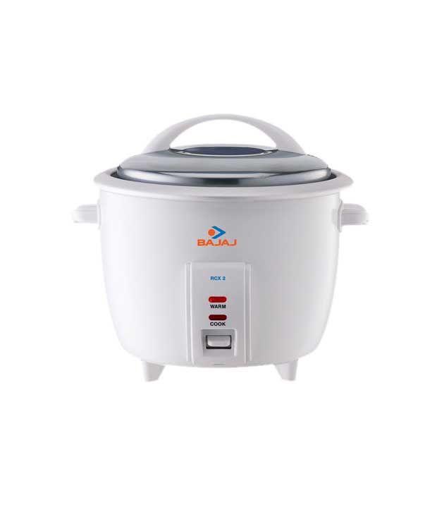 2cf121570 Bajaj 1 L RCX2 Rice Cooker White Price in India - Buy Bajaj 1 L RCX2 Rice  Cooker White Online on Snapdeal