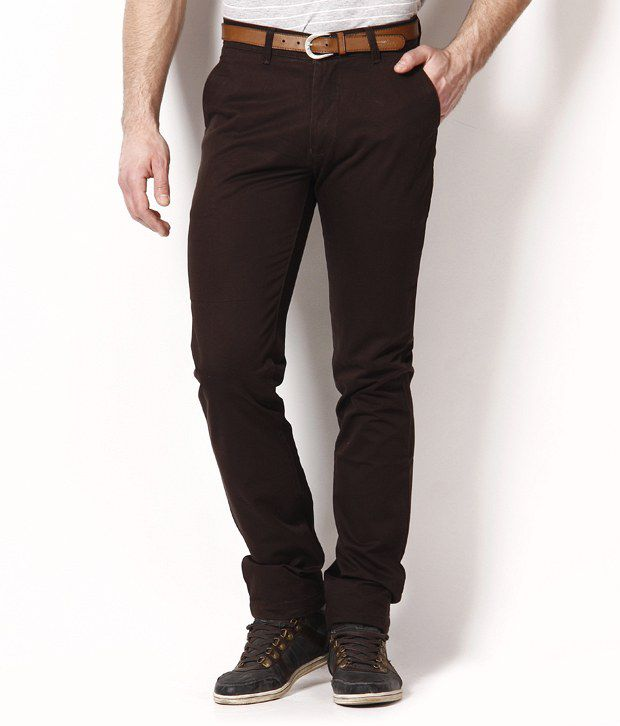 British Terminal Dark Brown Trousers