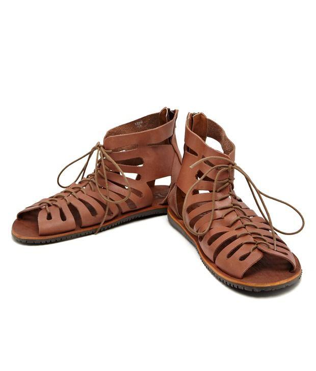 25350a05dfa Estd.1977 Adorable Brown Sandals Price in India- Buy Estd.1977 Adorable Brown  Sandals Online at Snapdeal