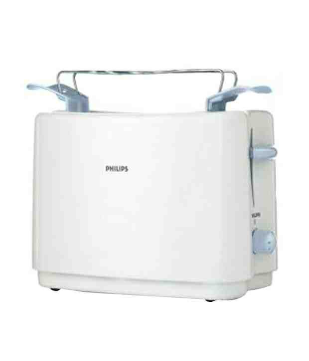 Philips HD4823/01 800 W Pop Up Toaster(White)