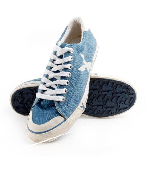 Playboy Denim Blue Shoes - PB008-DENIM