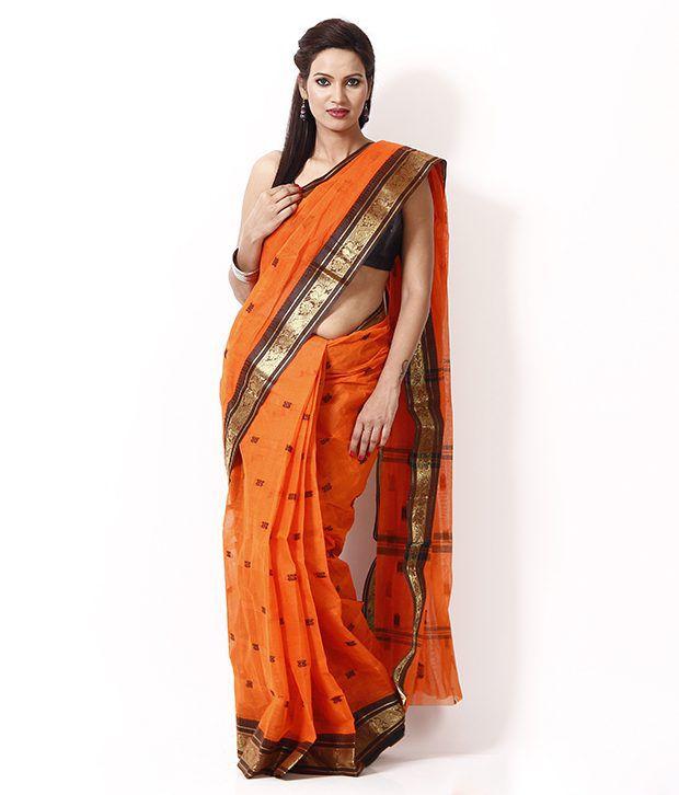 Sanchari Multi Bengal Tant Cotton Saree
