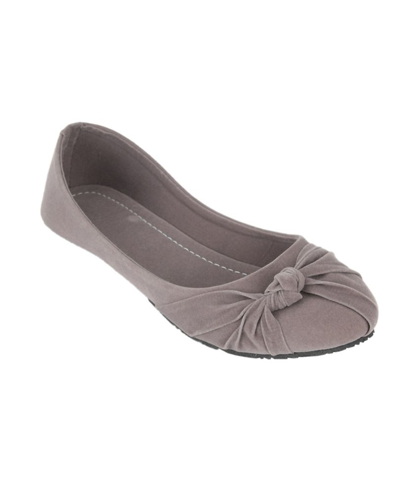 Sindhi Footwear Pari Grey Ballerinas discount pick a best discount order really sale online nbd28