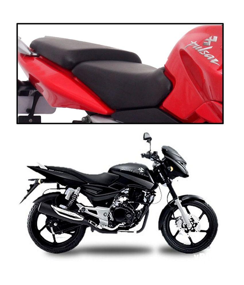 Vheelocityin High Quality Bike Seat Cover For Bajaj