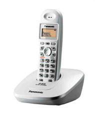 Panasonic Kx-tg3611sx Cordless Landline Phone ( Silver )