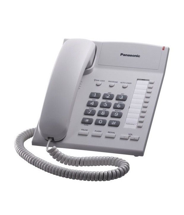 buy panasonic kxts 820 corded landline phone online at best price in india snapdeal. Black Bedroom Furniture Sets. Home Design Ideas