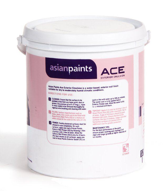 buy asian paints ace exterior emulsion exterior paints sunrise