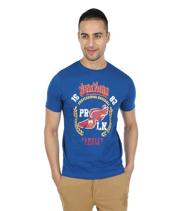 Proline Blue New York T Shirt