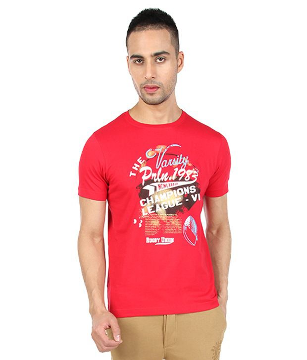 Proline Red Champions League T Shirt