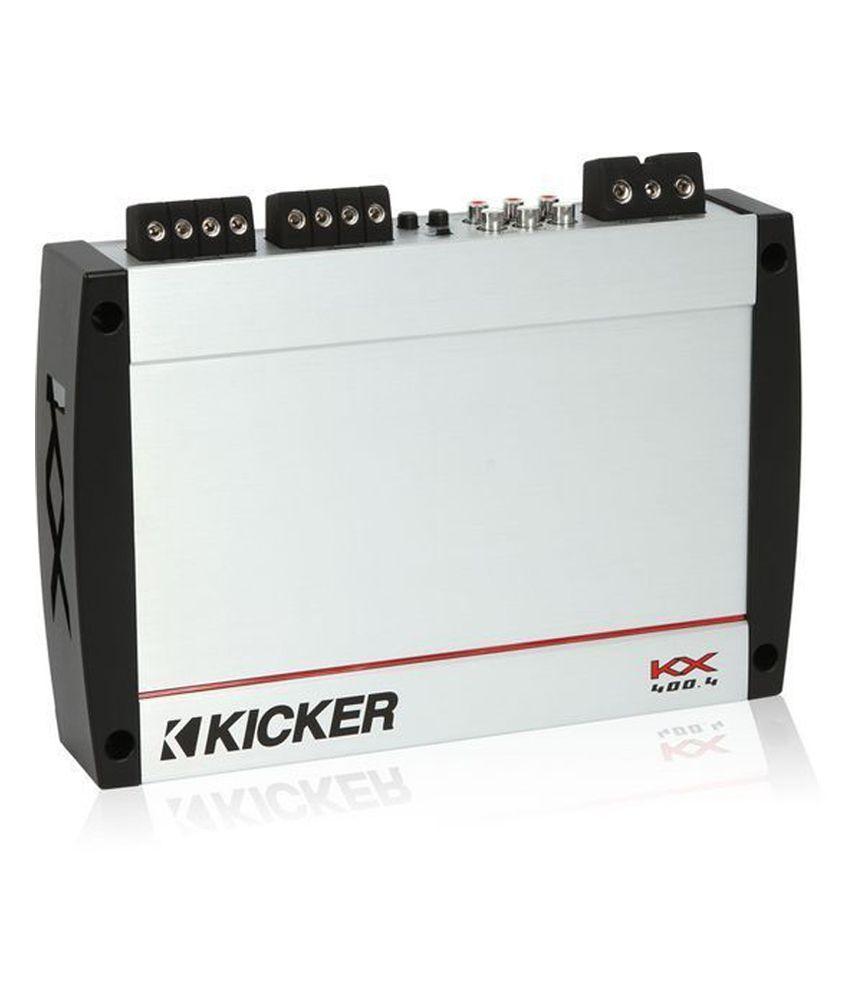 Kicker - KX400 4 - 4 Channel Amplifier