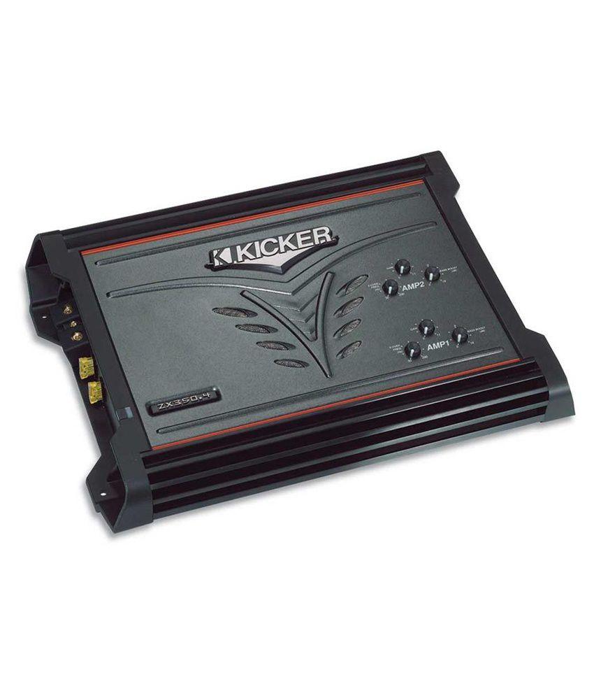 Kicker - ZX3504 - 4 Channel Amplifier