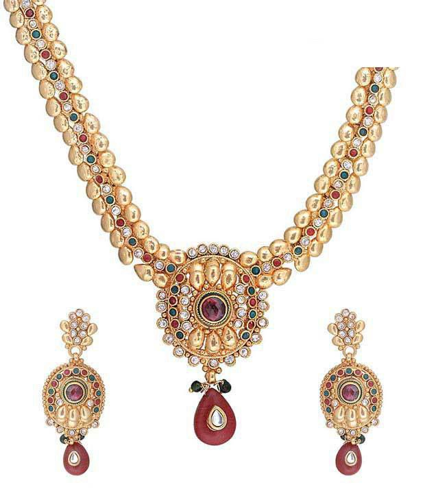 Kriaa Antique Design Necklace Set