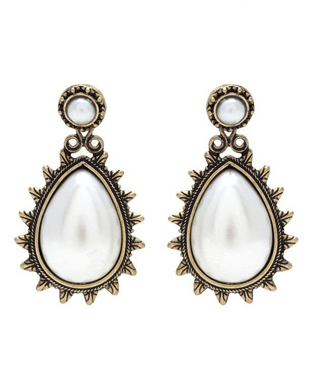 Pari Pearl Drop Earrings