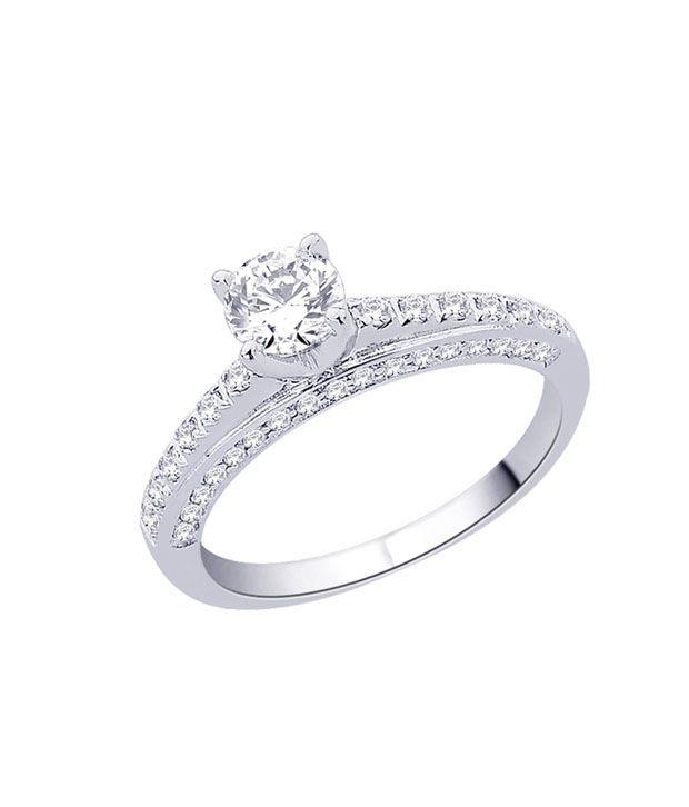 Peora Petite CZ Solitaire Ring