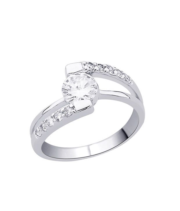 Peora Striking CZ Solitaire Ring
