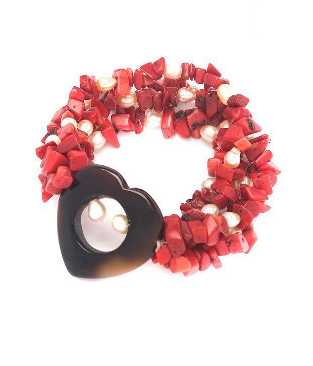 Piebee Stylish Multistring Love Bracelet