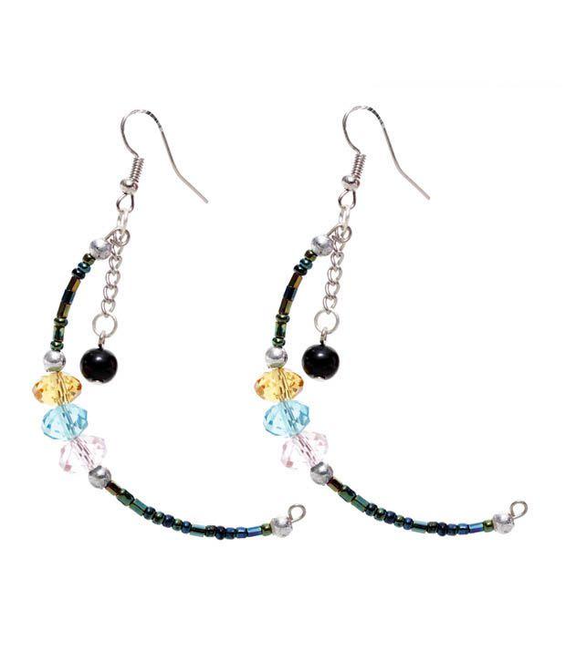 Pretty Woman Half Moon Jazzy Earrings