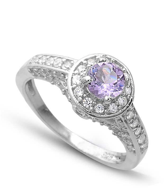 Revlis Fiona Amethyst Silver Ring