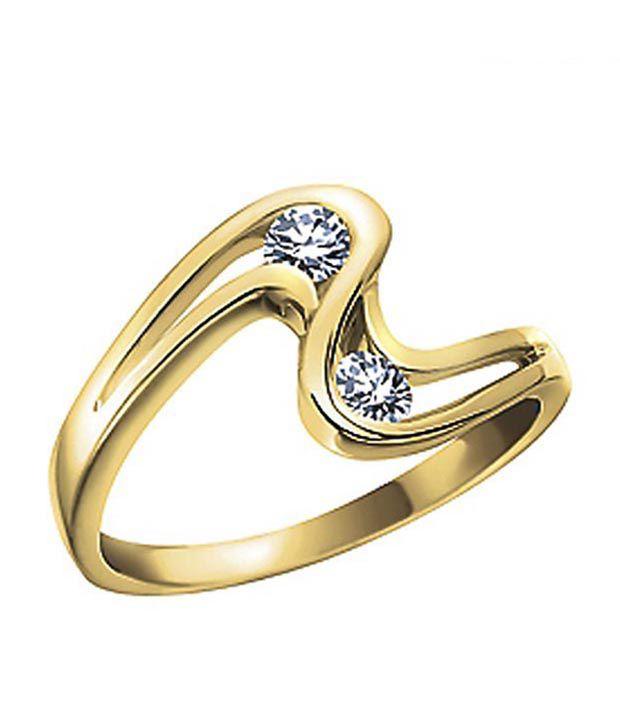 Sanskruti Fabulous Diamond Ring Buy Sanskruti Fabulous Diamond