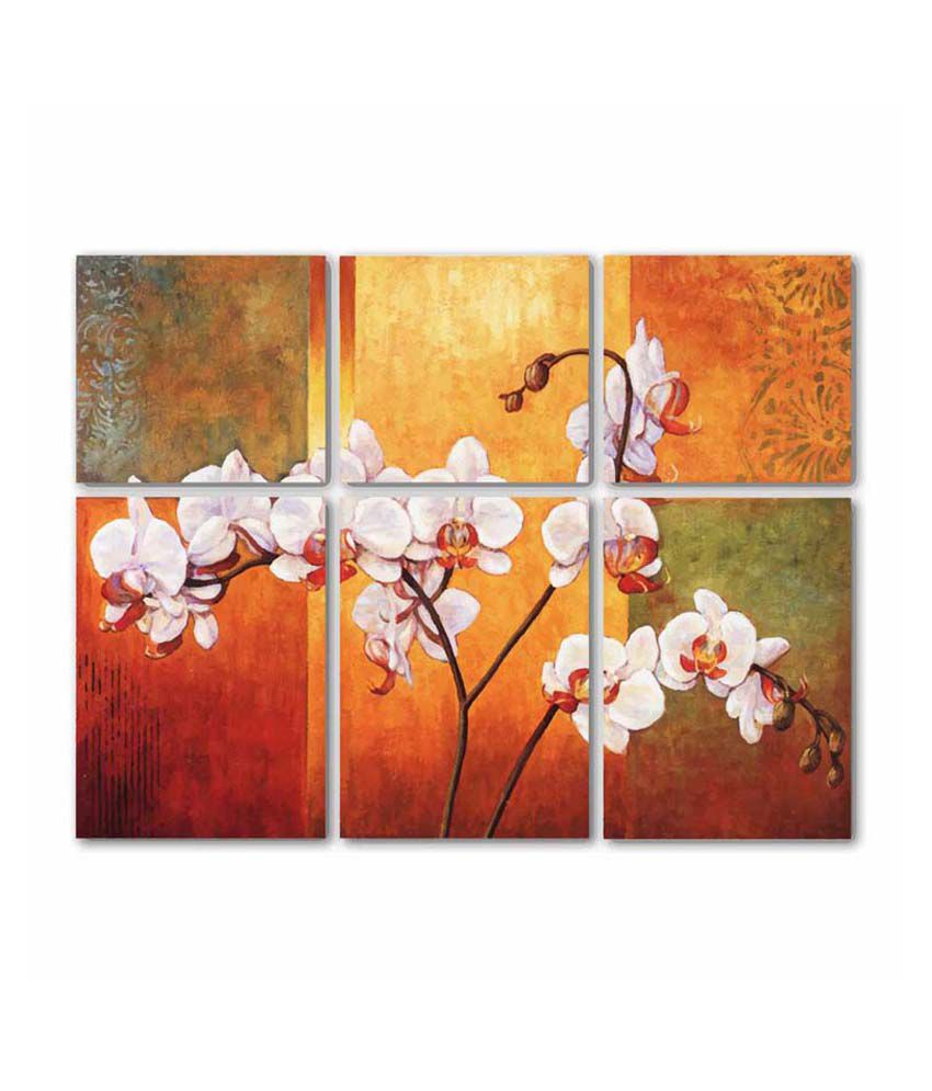 Painting Mantra Orchids 6 Piece Set