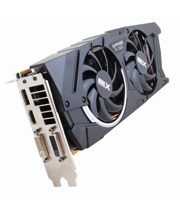 Sapphire AMD/ATI Dual-X R9 280X 3GB Graphics Card