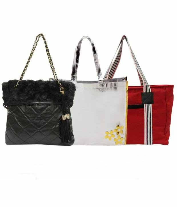 1 To All Bags Voguish Bags Combo With Free Rakhi