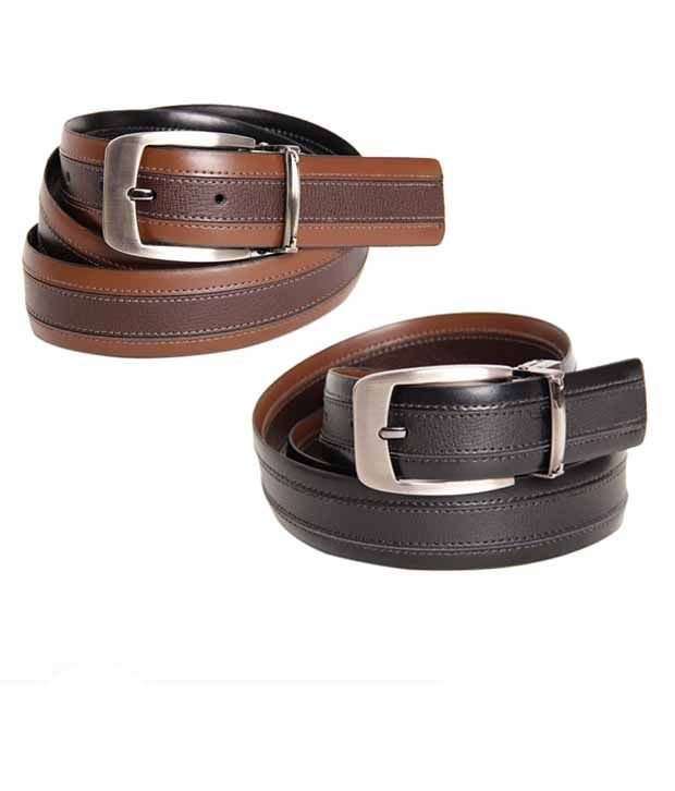 Bulchee Modest Black & Brown Reversible Belt